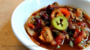 Mexican Chicken Meatball Soup2