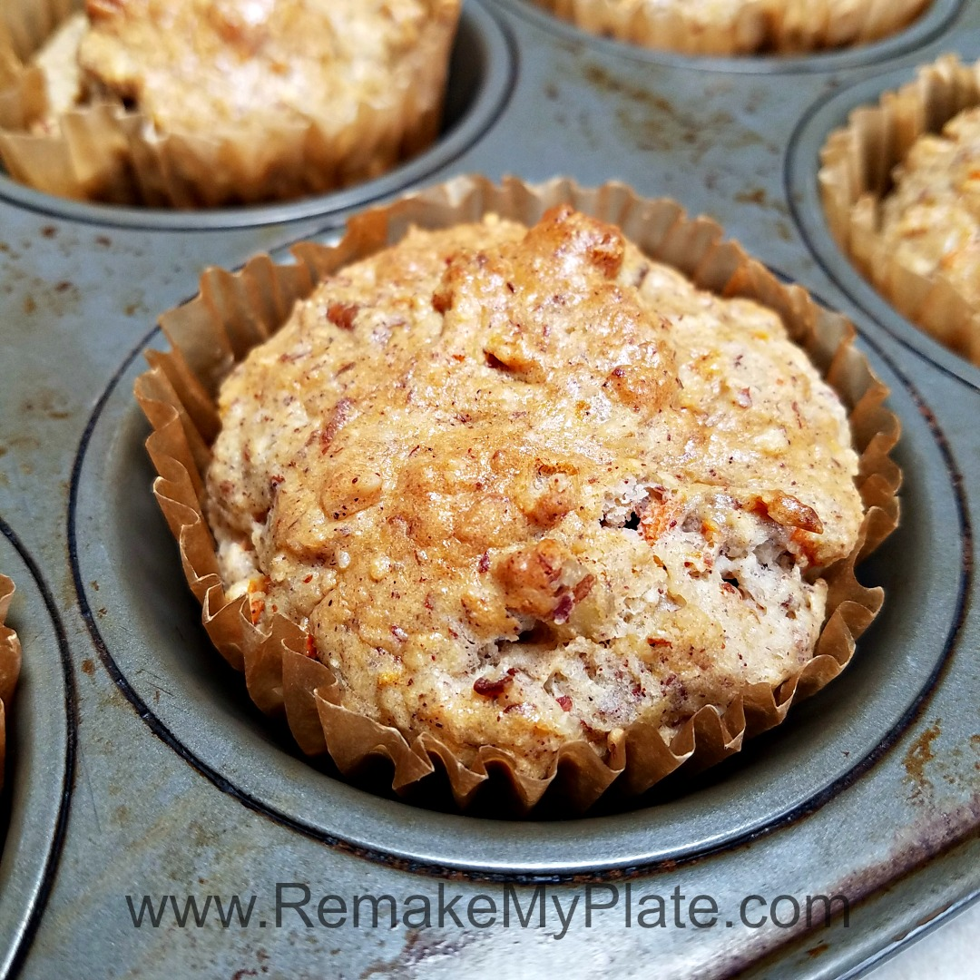 Low Fat Cake Mix Muffins